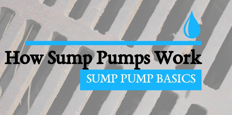 sump pump blog header article image
