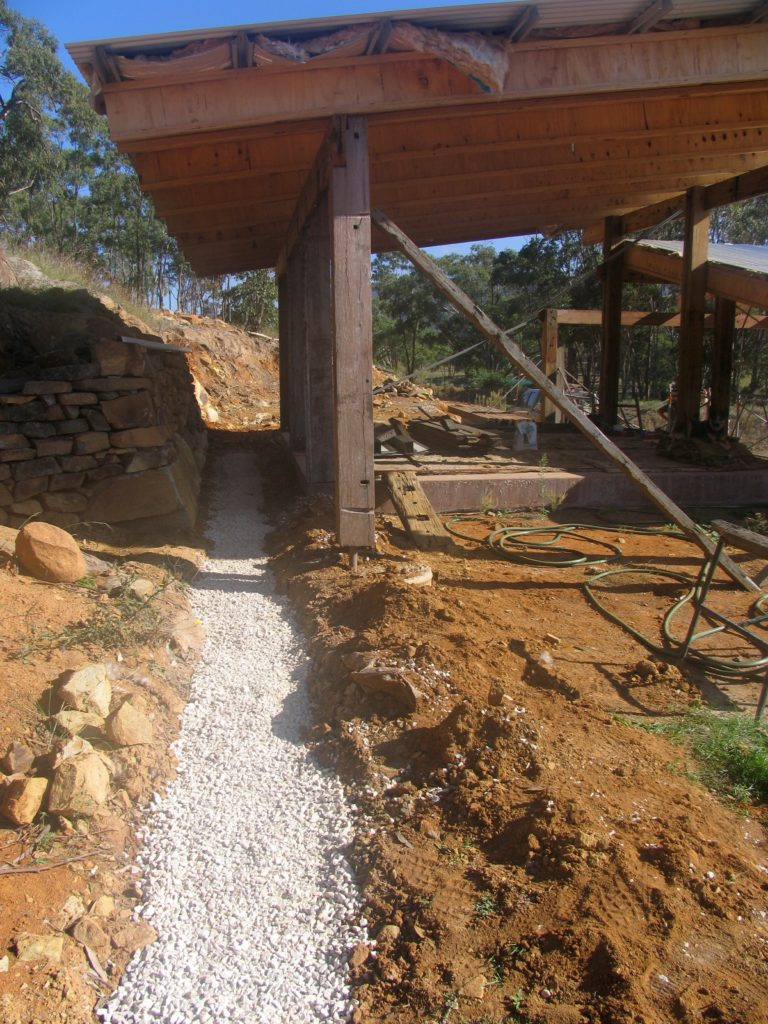 French drain Roofing Wood Construction