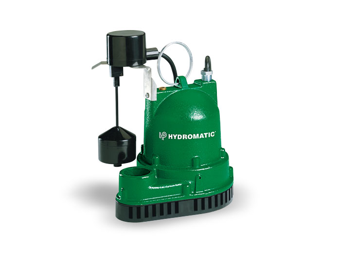 Iron Sump Pump Hydromatic flooding basement flooding yard flooding