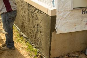 Waterproofing Basement Parging Ashworth Drainage London Ontario