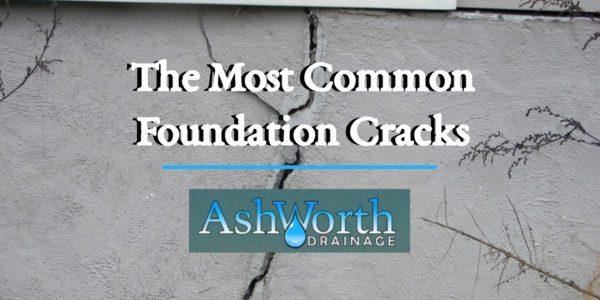 Drainage Contractors Waterproofing Ashworth Drainage Foundation Cracks Blog Header