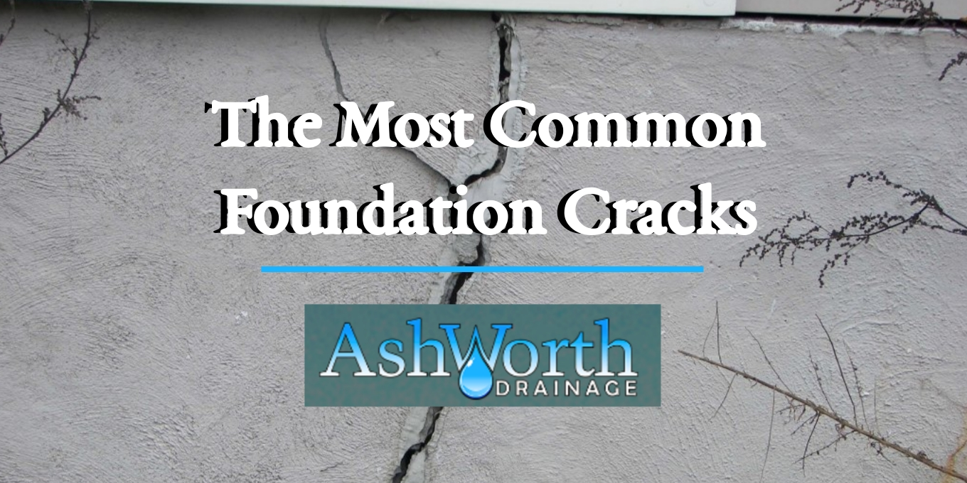 Drainage Contractors Waterproofing Ashworth Drainage Foundation Cracks Blog Header