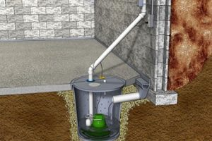 Sump pump basement drainage Ashworth Drainage Yard Flooding Yard drainage blog image London Onatrio