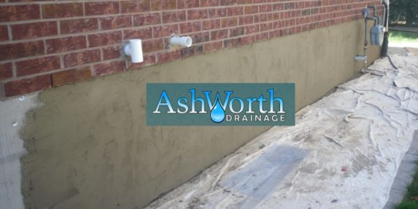 Waterproofing Basement Parging Ashworth Drainage London Ontario